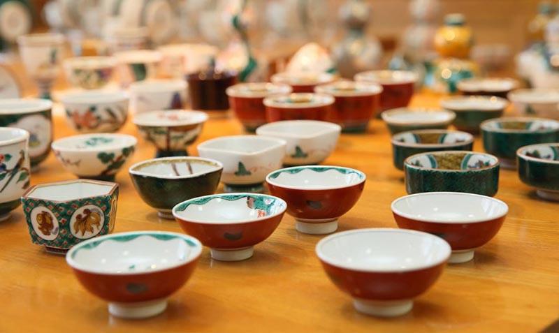九谷烧故乡石川县举办第109届九谷茶碗节 成