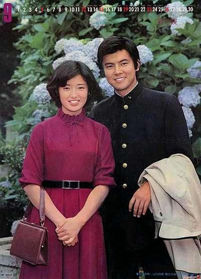 三浦友和与山口百惠 -人民网日本版 主页图片
