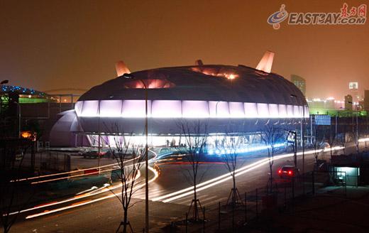 上海世博会日本馆竣工 馆内日本大餐人均消费600元